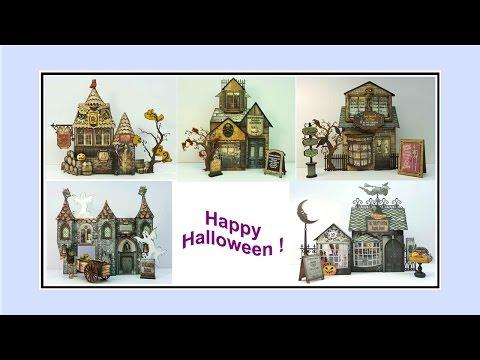 Haunted Village - An Artfully Musing Design - Halloween 2015