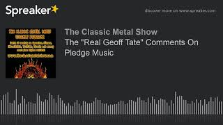 """The """"Real Geoff Tate"""" Comments On Pledge Music"""