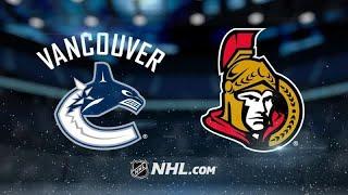 Ванкувер - Оттава. Прогнозы нахоккей НХЛ. Прогнозы на спорт.