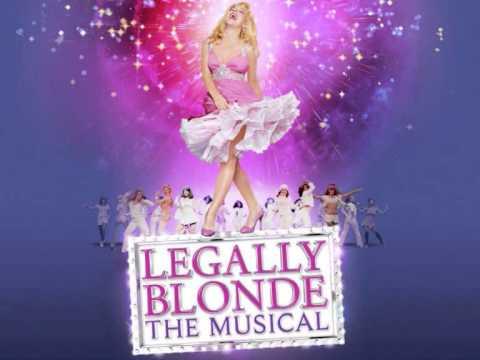 Legally Blonde - Positive (With Backing Vocals) Karaoke/Instrumental