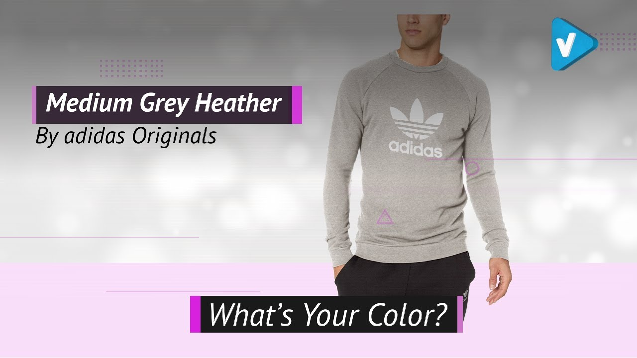 5e8085197233da Adidas Originals Men s Originals Trefoil Warm-Up Crew 2019 - What s Your  Color
