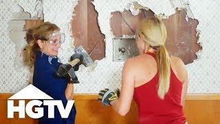 Building Brady: Knocking Down Walls - HGTV