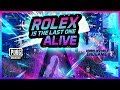 ROLEX IS THE LAST ONE ALIVE - PUBG MOBILE
