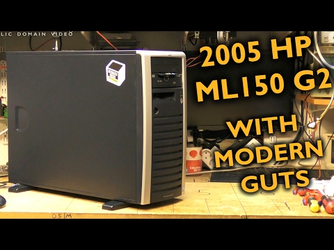 The render server moves into a HP ML150 from 2005
