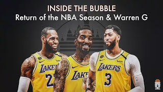 Lakers enter NBA Bubble, Danny Green joined by Warren G on #BLM Movement/'92 LA Riots, LeBron & more