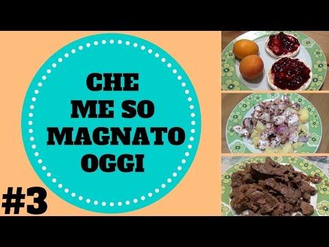 CHE ME SO MAGNATO OGGI (WHAT I EAT IN A DAY) #3 09/08/16