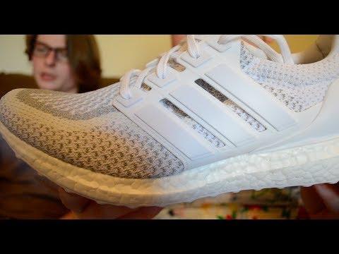 a8039b10f4f72 Adidas Ultra Boost 2.0 Reflective 3M LTD - TLUS shoe review - YouTube