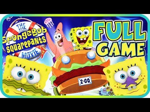 The SpongeBob SquarePants Movie Walkthrough Longplay FULL GAME (PS2, Gamecube, XBOX)