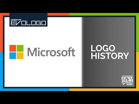 Microsoft Logo History | Evologo [Evolution of Logo]