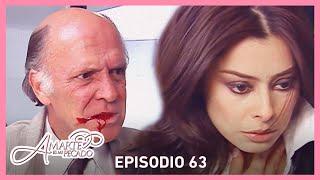 Amarte es mi pecado: Carmelo atenta contra Leonora | Escena C-63 | tlnovelas