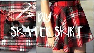 ♥DIY | Skater/Circle Skirt (Without pattern)