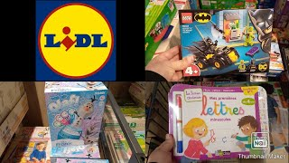 LIDL MARLY ARRIVAGE JOUETS 06/12