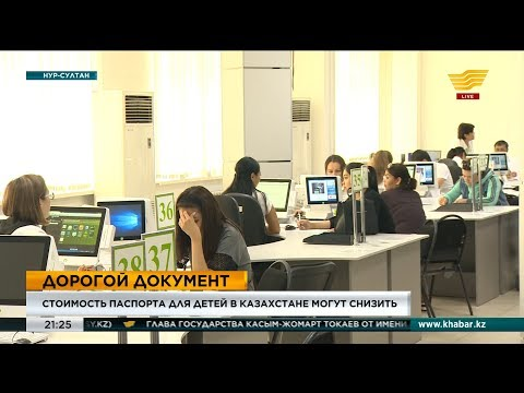 Стоимость паспорта для детей в Казахстане могут снизить