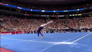 Chellsie Memmel - Floor Exercise - 2008 Olympic Trials - Day 2