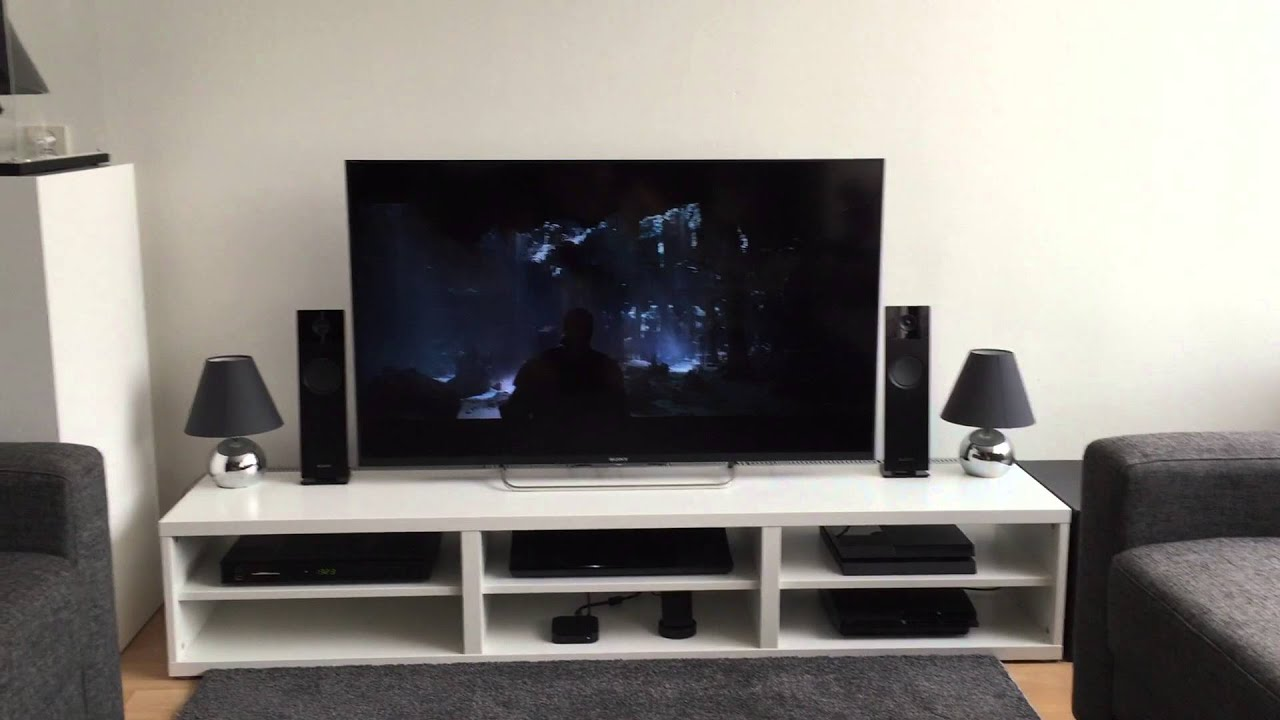 my new tv sony bravia w828b 50 inch short review youtube. Black Bedroom Furniture Sets. Home Design Ideas