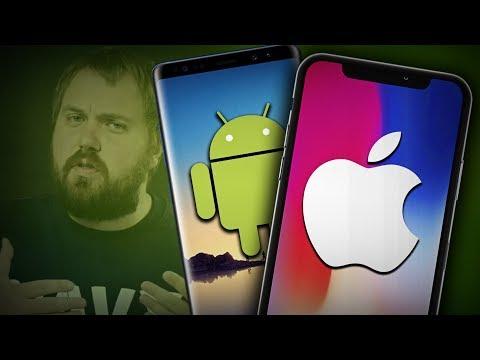 УШЕЛ С iPhone на ANDROID