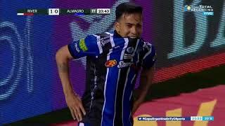 Facundo Suárez tuvo el empate (River - Almagro - Copa Argentina 2019)