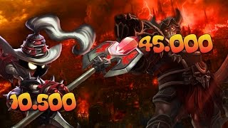 League of Legends - Veigar 10 500 AP vs Sion 45 000 HP 9 hours long game