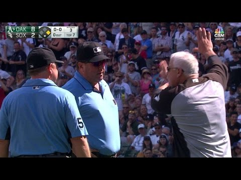 OAK@CWS: Frazier and Renteria are ejected in the 7th