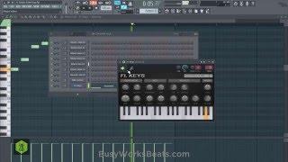 FL Studio 12 Beginners EDM Trap Tutorial (No Extra Plugins Needed)
