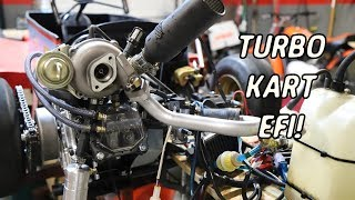 turbo go kart finally gets electronic fuel injection