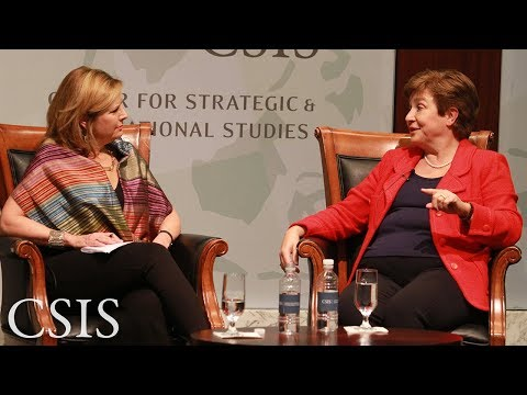 The Role of Women in Global Poverty Reduction: A Conversation with Dr. Kristalina Georgieva