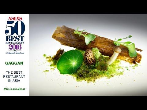 Gaggan, The Best Restaurant in Asia 2016