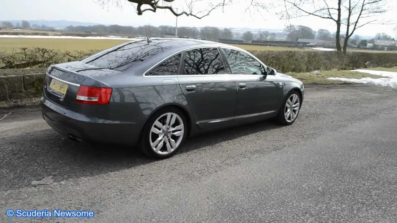 Audi S V HUGE REVS DRIVEBY YouTube - V10 audi s6