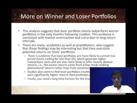 Session 14: Value Investing - The Contrarians
