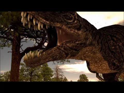 Carcharodontosaurus vs Tyrannosaurus - Who would win in a fight