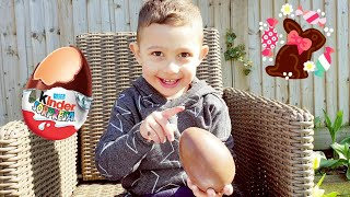 Giant Kinder Surprise Egg Unwrapping | Surprise Toy | Easter 2020