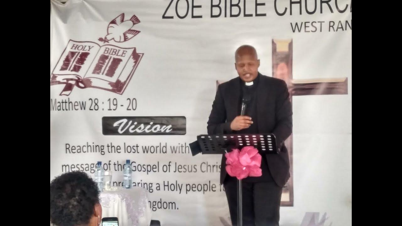 Chief Elder S Motlane Introduction to prayer