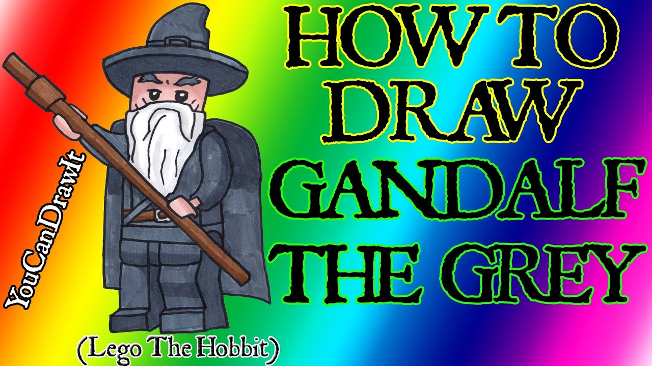 gandalf the gray coloring pages - photo#37