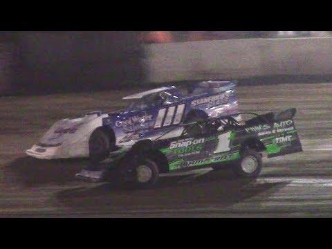 ULMS Super Late Model Heat One | Eriez Speedway | 9-23-17