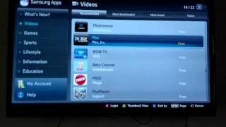 Repeat youtube video How to Install Plex App on Samsung TV Smart Hub