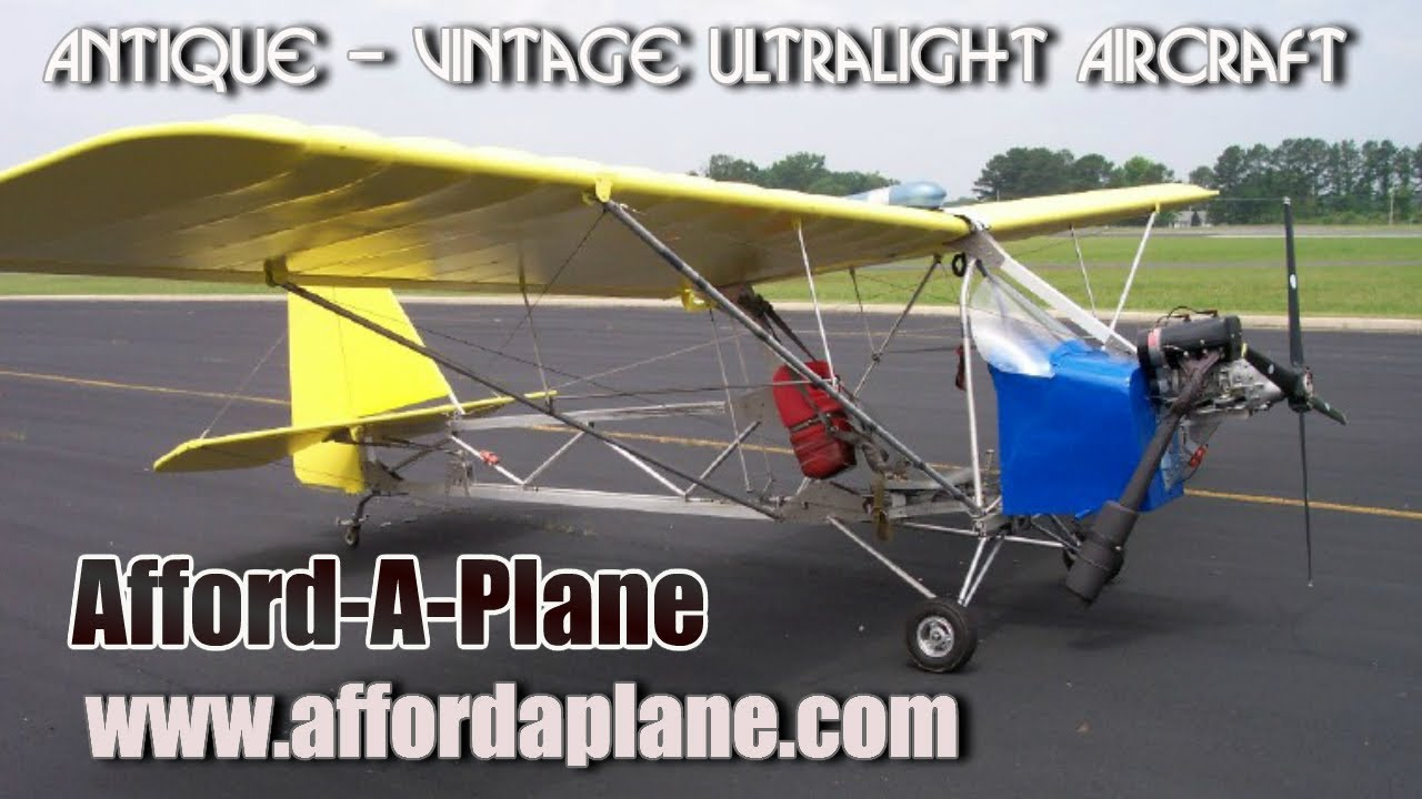 Afford A Plane Ultralight Or Experimental Amateurbuilt