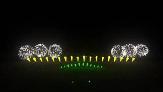 Epic Virtual Fireworks with Music - FWsim thumbnail