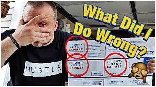 I made a HUGE Mistake In Preparing My Shipments. How I Box Up My Shipments!