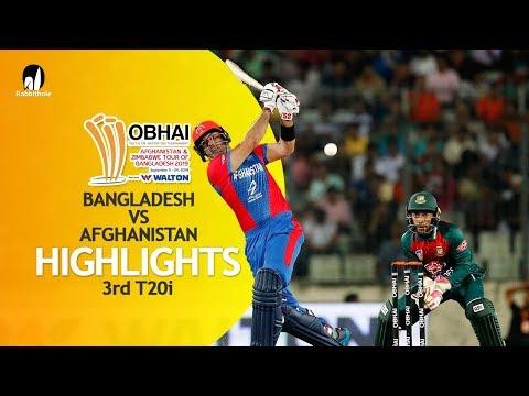 Highlights   Bangladesh vs Afghanistan   3rd T20   Bangladesh Tri-Series 2019