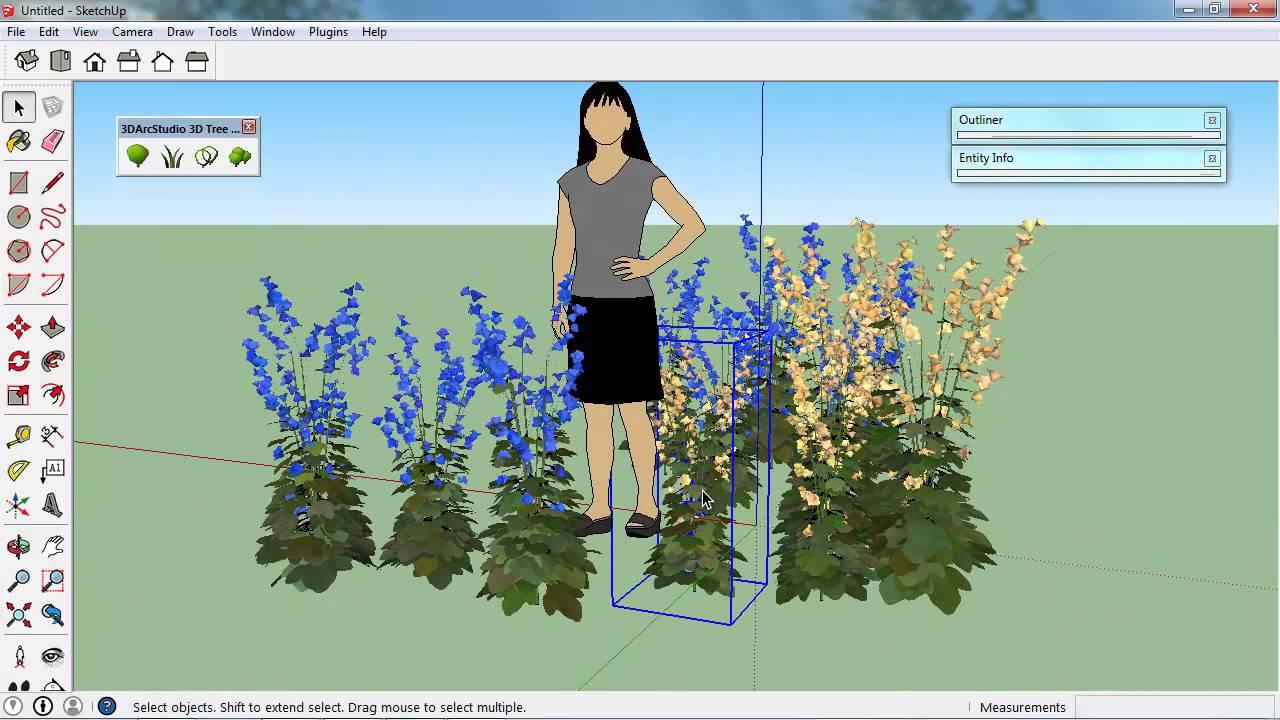 """Résultat de recherche d'images pour """"3d tree maker sketchup"""""""