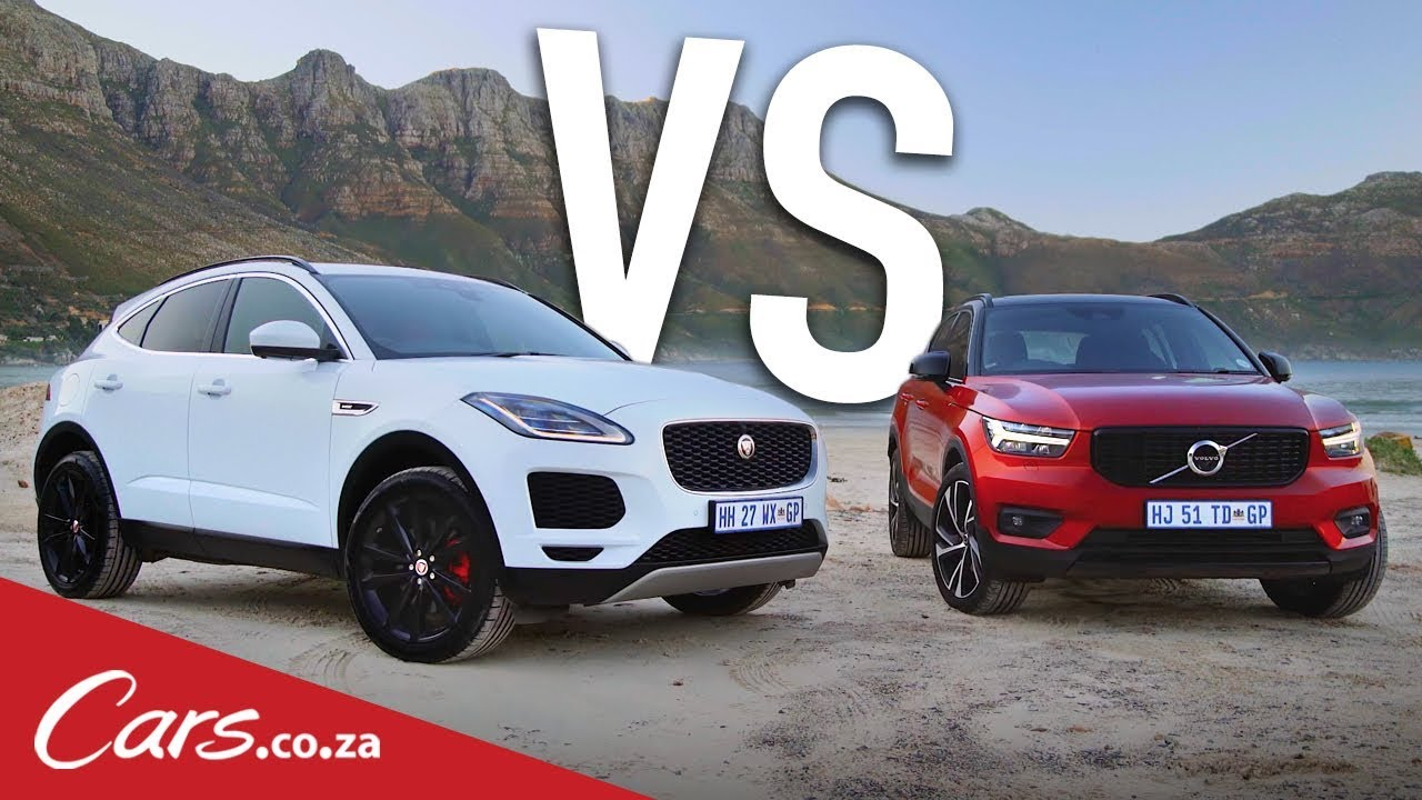 jaguar e pace vs volvo xc40 review comparison youtube. Black Bedroom Furniture Sets. Home Design Ideas