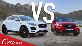 Jaguar E-Pace vs Volvo XC40 - Review & Comparison