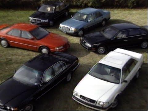 MotorWeek | Retro Review: '93 V8 Luxury Sedan Comparo