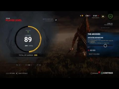 Dead by Daylight Agitation Advantage Challenge broken |