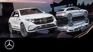 Mercedes-Benz EQC world premiere in Stockholm | Highlights