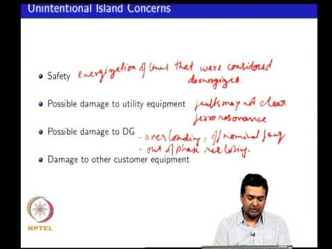 Mod-01 Lec-12 Modeling of islanded distribution systems