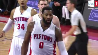 Drummond Dances and Dunks in Detroit ► 12.23.16