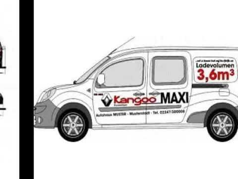 RENAULT Kangoo Express 1.5 dCi 90 Maxi Grand Volume Extra