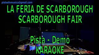 Karaoke La Feria de Scarborough Fair Pista Instrumental