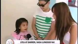 Darren and Lyca in TV Patrol Palawan